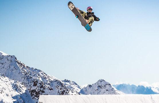 nauka trików snowboardowych